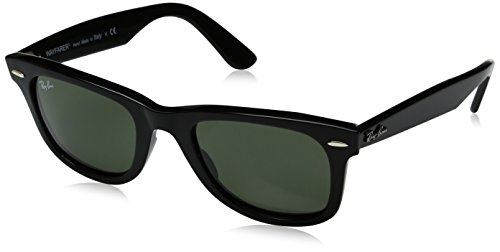 Ray-Ban Rb2140 Gafas de sol, Black, 50 Unisex-Adulto