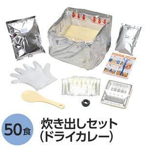 尾西食品 アルファ米炊出しセット (ドライカレー50食分) 常温保存 日本製