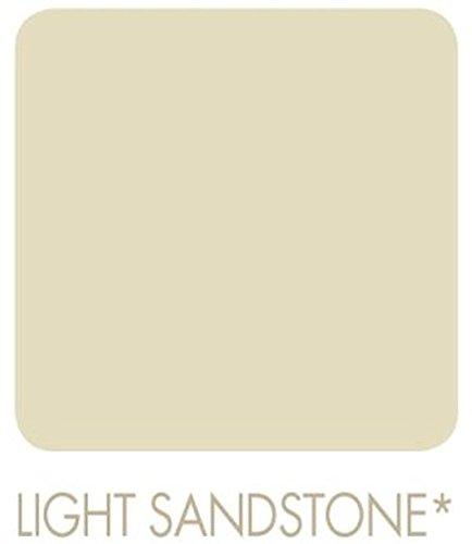 Signeo Bunte Wandfarbe matt, elegant-matte Oberflächen, Innenfarbe, 1 Liter Farbton Wählbar, Farbe:Light Sandstone