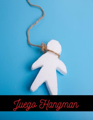 Juego Hangman: Rompecabezas del ahorcado para niños inteligentes Juego de papel grande para viajes en verano