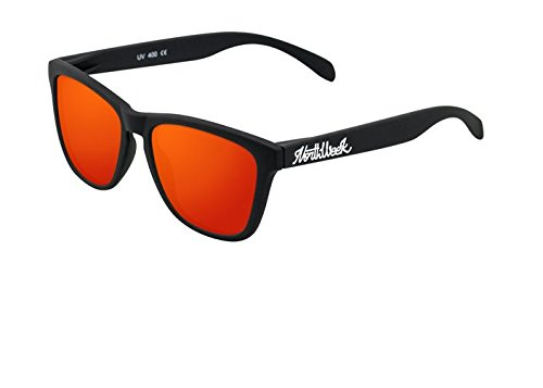 NORTHWEEK Regular Gafas de sol, Matte Black, 45 Unisex