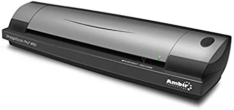 Ambir ImageScan Pro 490i Duplex Document Scanner with AmbirScan Business Card
