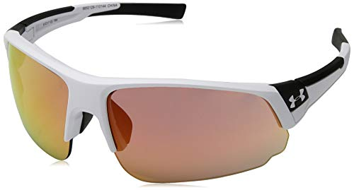 Under Armour Changeup Dual Sunglasses, White / Tuned Baseball Lens