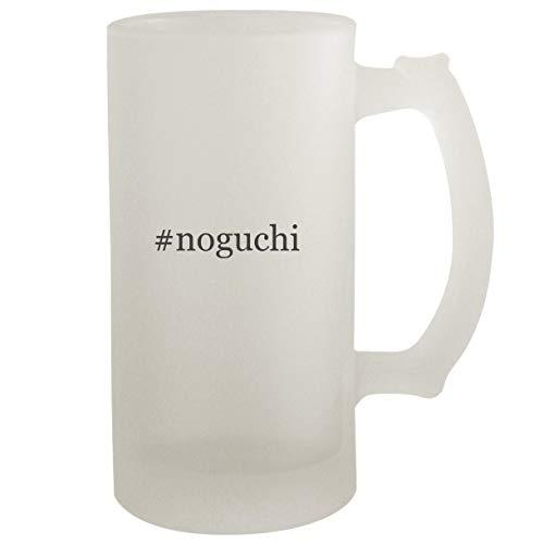 #noguchi - Frosted Glass 16oz Beer Stein