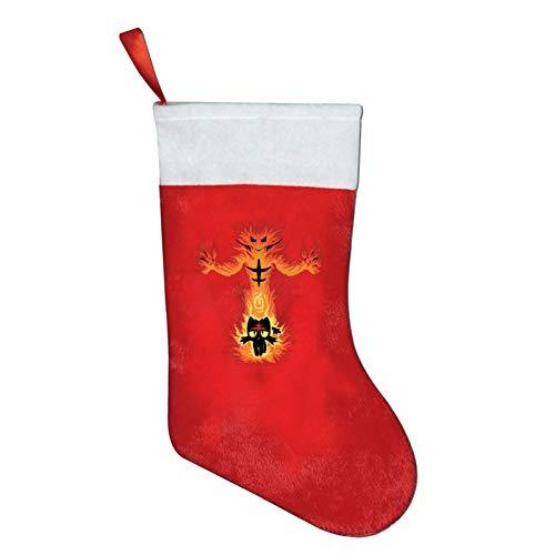 """Hdadwy Kalėdinės kojinės """"Fire Cat"""" kojinės Kalėdinės linksmybės Naujųjų metų dovanų kuponai """"Party Tree"""" virtuvės dekoro dovanų rinkinys"""
