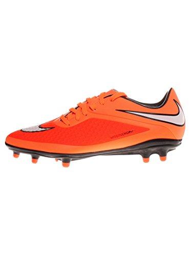 Nike HYPERVENOM Phelon FG Herren Fußballschuhe, Orange (Hyper-Karmesinrot/Atomar-Orange/Weiß 800), 41 EU