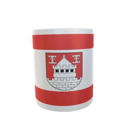 U24 Tasse Kaffeebecher Mug Cup Flagge Isselburg