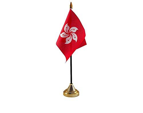 Hong Kong Hand Tafel of Waving Vlag Land - Geen Basis