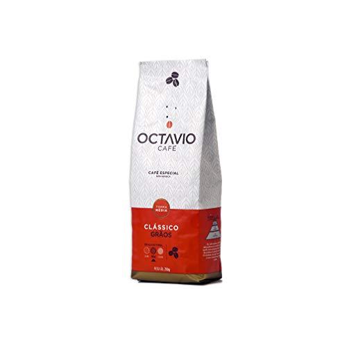 Café Torrado em Grãos, Octavio Café Especial, Classic, 250g, Pacote de 1