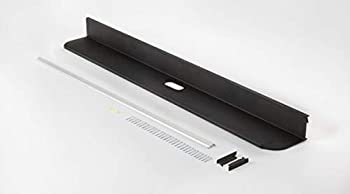 EZ-Hang by HANGMAN No Stud Premium sound bar shelf 38  Black Powder Coat