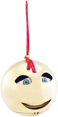 infactory Singende Christbaumkugel: Singende & sprechende Weihnachtsbaumkugel (Sprechender Weihnachtsbaum)