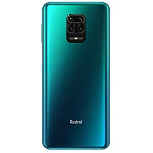 "Redmi Note 9S - Smartphone con Pantalla 6,67"" FHD+ DotDisplay (Snapdragon 720G, 4+64GB, Cámara cuádruple de 48MP, 5020mAh, Sensor de huella lateral) Azul aurora [Versión Internacional]"