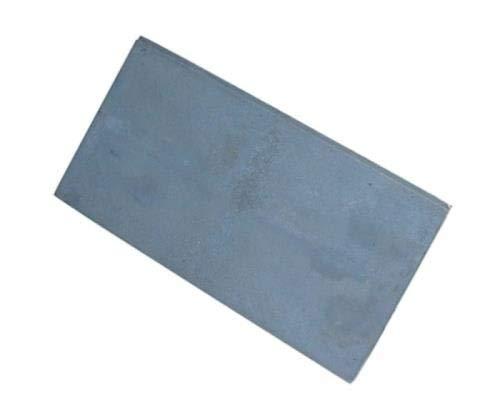 QLS Kochplatte aus Gusseisen Herdplatte Kochfeld voll Platte für Ofen 68 x 32 cm