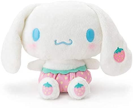 Fresa Hello Kitty noob juguete de felpa Anime dibujos animados suave muñeca de felpa decoración de habitación juguetes regalos para niños 15 cm / 25 cm