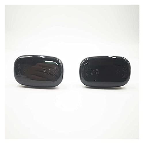 ZIHAN Feil Store Ajuste para Toyota COROLA CELICA CALDINA Camry HILUX PROPBOX Fielder AVENSIS RAV4 Prius RunX LED Dynamic Side Marcador de la señal de la señal