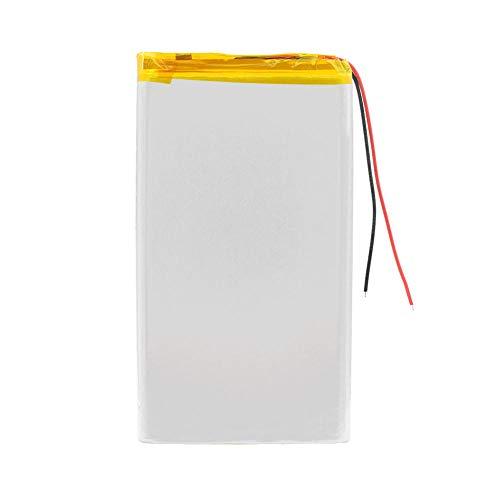 wangxiaoping Batería lipo Recargable 3,7 V 8873130 10000 mah Tableta batería de polímero de Litio para Tableta DVD GPS Juguetes eléctricos-3,7 V_4 Piezas
