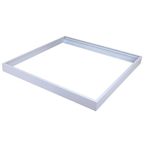 AllSmartLife 2x2FT Surface Mount Kit, Aluminum Ceiling Frame Kit for 2x2FT LED Panel Light/ Drop Ceiling Light