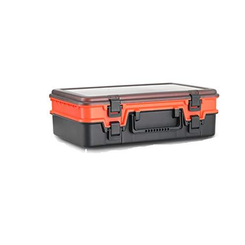Sac de pêche Pêche Boîte à outils Bait Boîte de rangement double-couche Boîte de poissons multi-fonctionnels Accessoires spéciaux Sac équipement de pêche de vitesse Sac de rangement pour outils de pêc