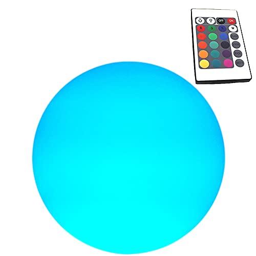 Gift for Kids Men Women Pool Floating Lights LED Light Color Changing Ball 8 inch Rechargeable 2600mAH Night Mood Light for Wedding, Bedroom, Living Room Garden, Pool, Bar Decor.