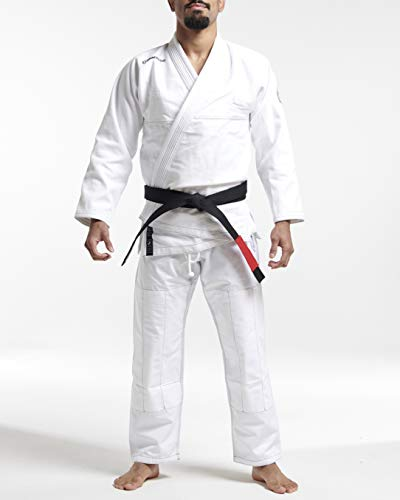 Gameness Jiu Jitsu Feather Gi White A2