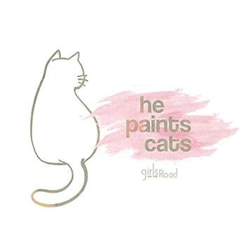 He Paints Cats