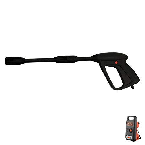parpyon® - Pistola para hidrolimpiadora Annovi Reverberi - AR Blue Clean - Black&Decker - Conexión rápida para Tubo de Agua - Accesorios de Recambio hidrolimpiadoras + paño de Regalo (BD41615)