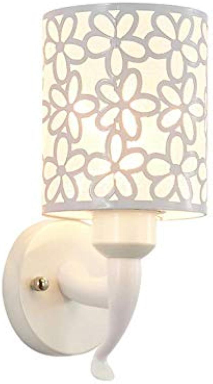 Einfache nordische moderne runde Raumschlafzimmer-Nachtwandlampe Hotelkorridorgang-Wohnzimmerhintergrund-Wandlampe