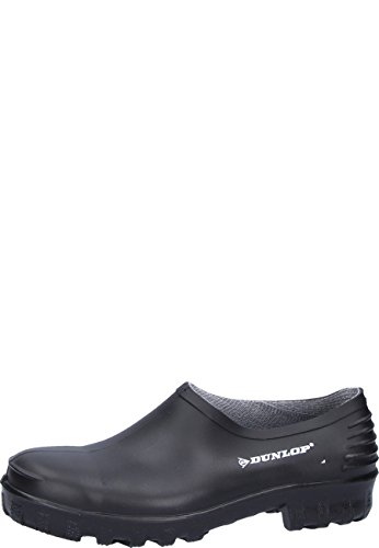 Dunlop Clogs Schwarz