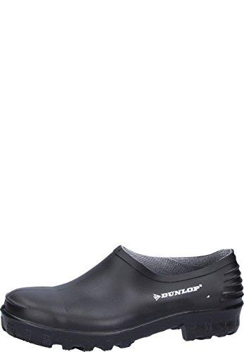 Dunlop Protective Footwear Unisex-Erwachsene Monocolour Wellie Shoe Clogs Schwarz (black) 46 EU