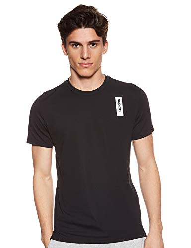 adidas Herren Daily T-shirt, Black, L