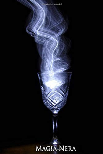 MAGIA NERA: Libro di magia nera da riempire - Grimoire - Libro delle ombre | Formato 6 x 9 pollici | 111 pagine | Per gli amanti della stregoneria | Libro di stregoneria | Wicca