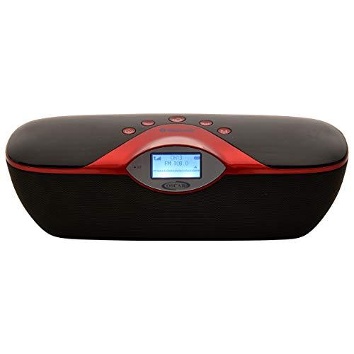 OSCAR OSC-180GDP Cordless 2.0 Bluetooth Speaker with, FM, USB with 2200 Mah...