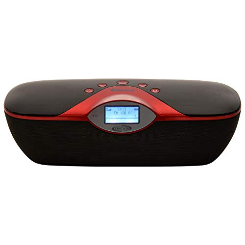 OSCAR OSC-180GDP Cordless 2.0 Bluetooth Speaker with, FM, USB with 2200 Mah...