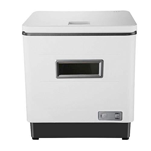 Instalación gratuita Mini mesa automática para encimera Lavavajillas en acero inoxidable, 360° de lavado, consumo de agua: 12L - 42 x 38 x 46 cm
