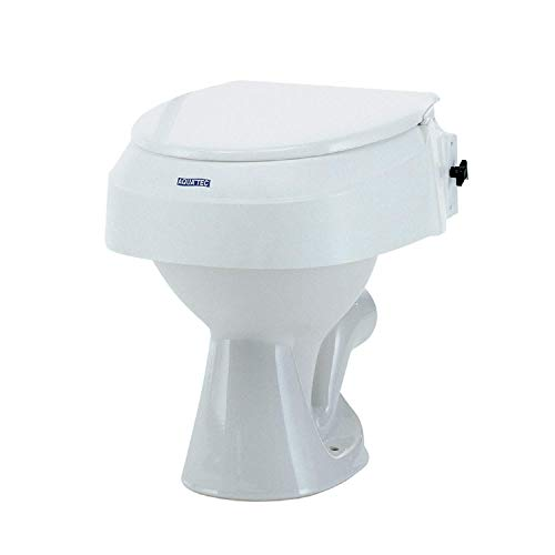 Invacare Aquatec 900 - Elevador de WC con Tapa Ajustable, 6/10/15 cm