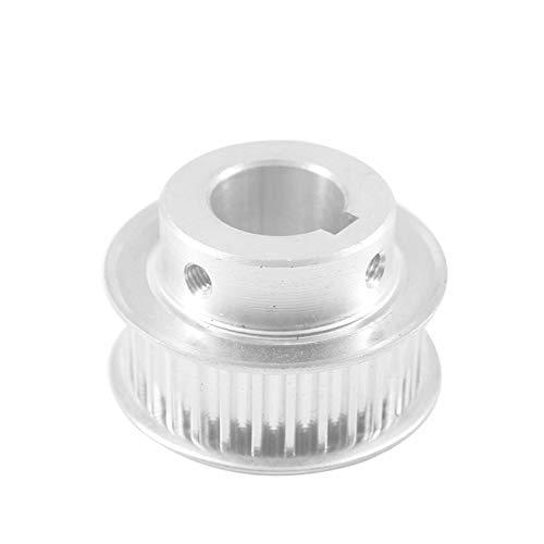 SANKUAI LT-3d, 1pc 5M 30T Timing Belt Pulley 10/12/14/15/16/19/20mm Bore Keyway Diameter 4/5/6mm 16/21mm Width Gear Pulley For Laser Machine (Color : Bore 12.7mm key 5mm, Size : 21mm)