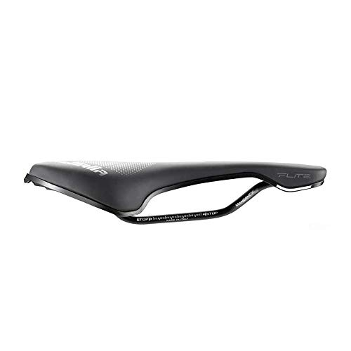 Selle Italia - Flite Boost TM Superflow Manganese Tubo Ø7, Road, Performance, Soft-Tek, Sella Corta, Comfort
