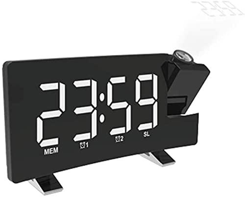 dh-9 Reloj Despertador simulador de Amanecer Retro Reloj Despertador Reloj de Escritorio Reloj Despertador de proyección Relojes de Alarma del Amanecer Relojes Digitales Alarma Digital
