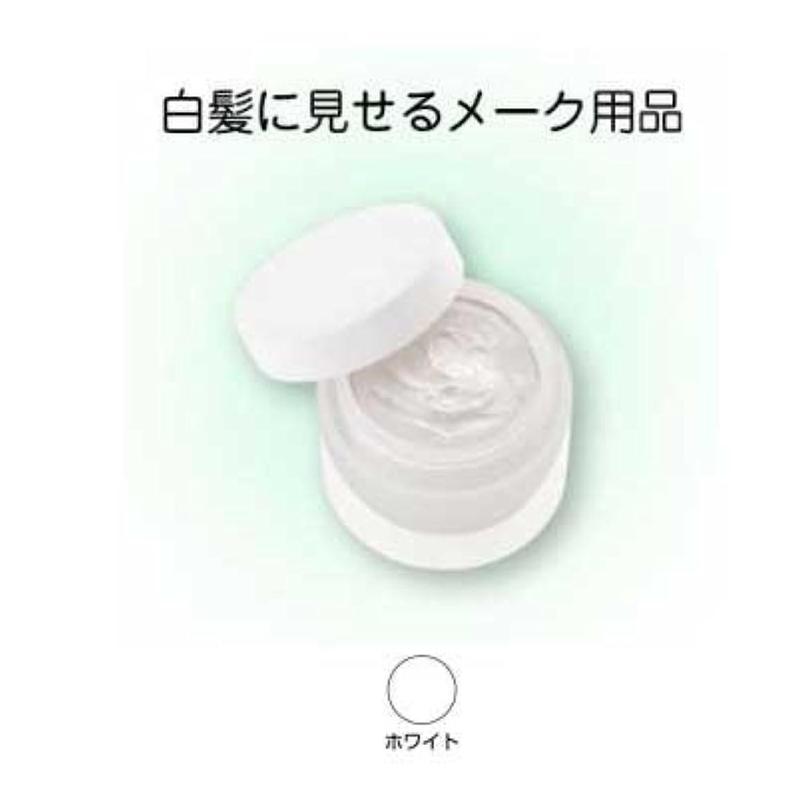 信条ゆるく流ヘアシルバー 33g ホワイト【三善】