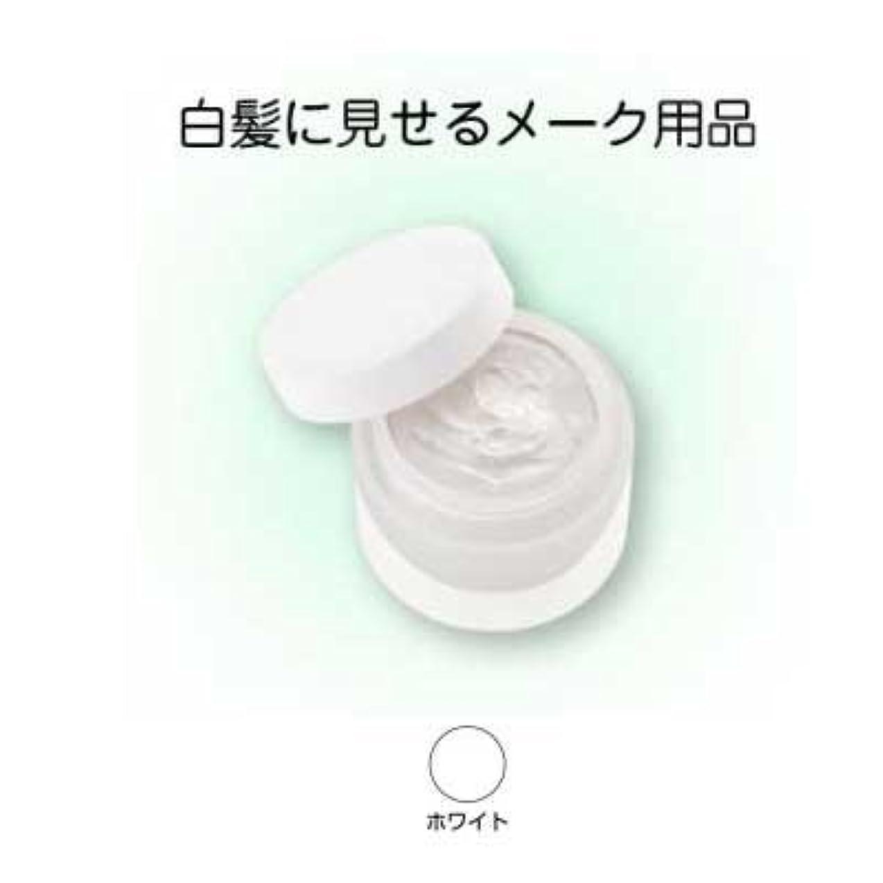 車両クラシック汚すヘアシルバー 33g ホワイト【三善】