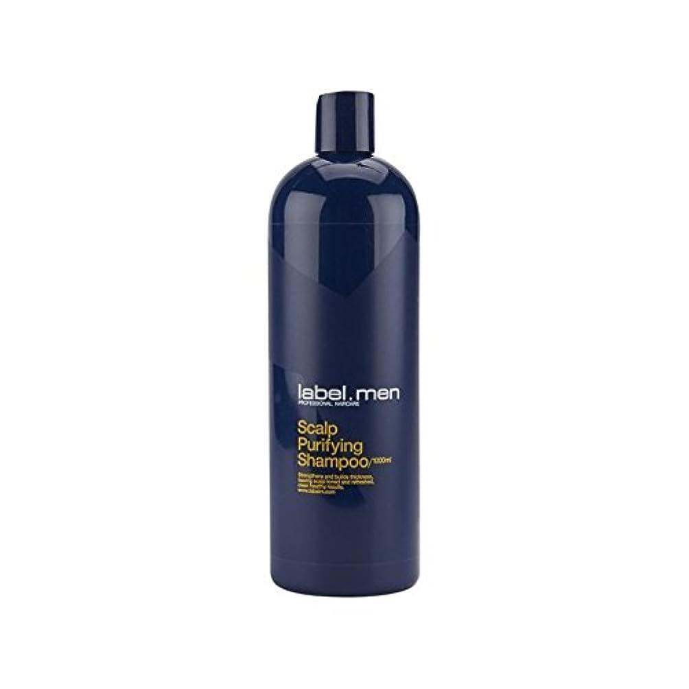しみ減衰プレビスサイト.頭皮浄化シャンプー(千ミリリットル) x2 - Label.Men Scalp Purifying Shampoo (1000ml) (Pack of 2) [並行輸入品]