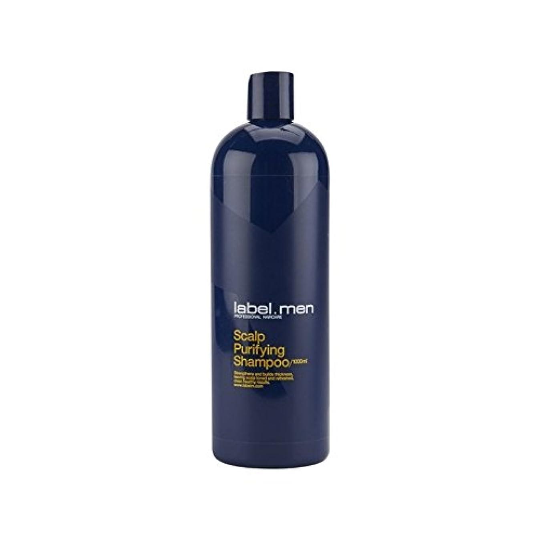 あいにく万一に備えて差し控えるLabel.Men Scalp Purifying Shampoo (1000ml) - .頭皮浄化シャンプー(千ミリリットル) [並行輸入品]