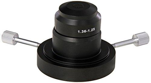 AmScope DK-OIL120 Aceite de campo oscuro condensador para microscopios compuestos