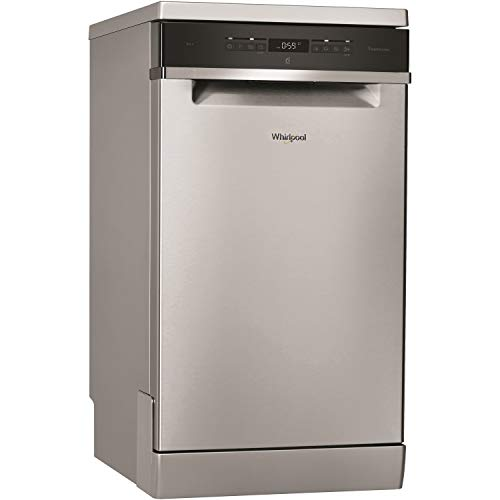 Whirlpool Supreme Clean WSFO 3T223 PC X UK Freestanding Dishwasher, Slim line,...