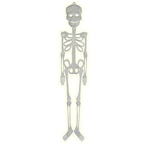 Guirca- Decoración para Halloween de esqueleto fosforescente (19866.0)