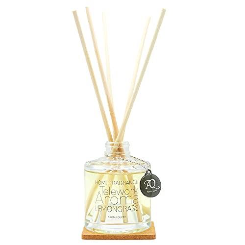 テレワークアロマ レモングラスの香り ホームフレグランス 150ml LEMONGRASS ルームフレグランス  アロマディフューザー リードディフューザー