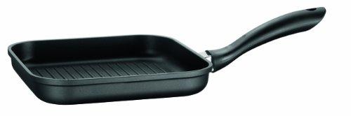 Domestic Top Selection 812031 Dione - Bistecchiera in Alluminio pressofuso con Rivestimento Antiaderente, 24 cm, per induzione