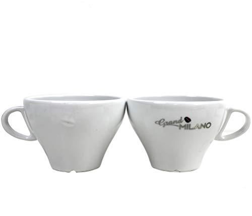 Grand Milano 6X Kaffee-Tassen Set 28 cl von Miko mit Relief Prägung ~mn 664 0925