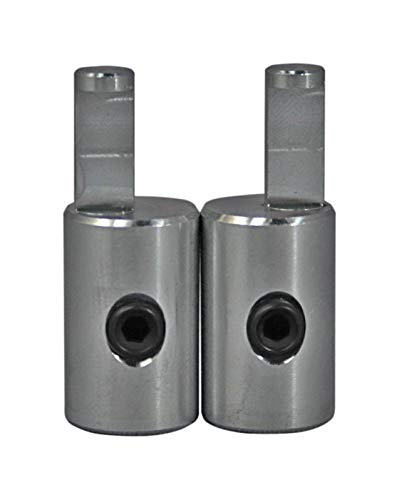 Pair of ILL Customz Power and Ground 4 Gauge to 8 Gauge Amp Input Reducers
