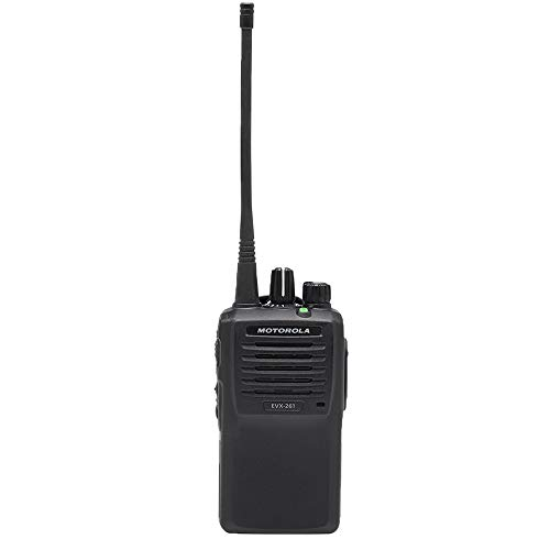 EVX-261-G6-5 UHF 403-470 MHz Digital/Analog, 5 Watt 16 Channel Handheld Two-Way Radio by Motorola Solutions - Intended for Business Use
